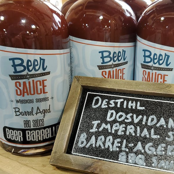 Beer Barrel Aged St. Louis Sweet BBQ Sauce