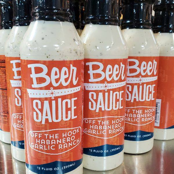 BeerSauce | Off The Hook Habanero Garlic Ranch!