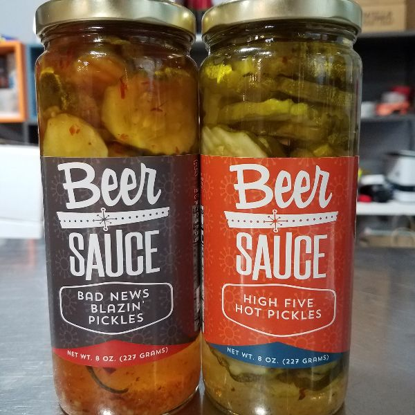 BeerSauce | Bad News & High Five Hot Pickles