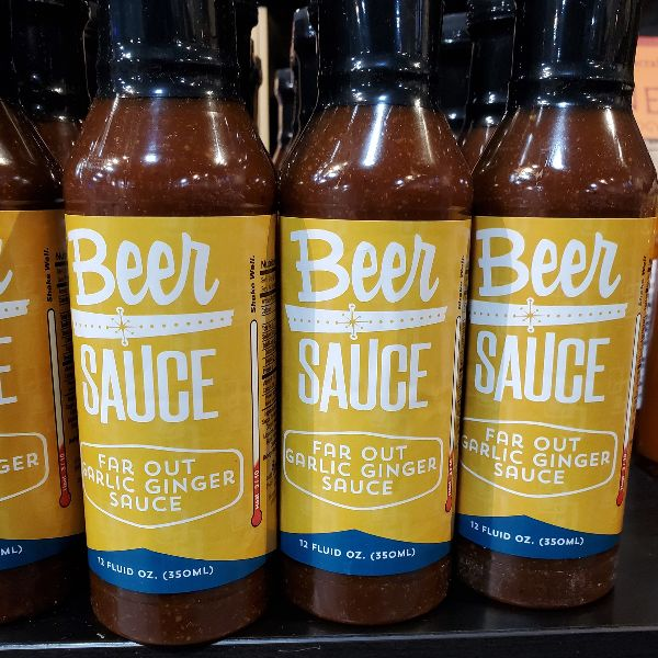 BeerSauce | Far Out Garlic Ginger Sauce