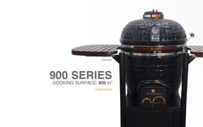 900 Series Icon Kamado Cooker Now at BeerSauce Shop