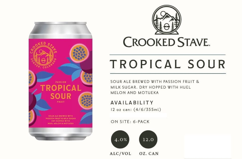 Passion Fruit Tropical Petite Sour | Crooked Stave