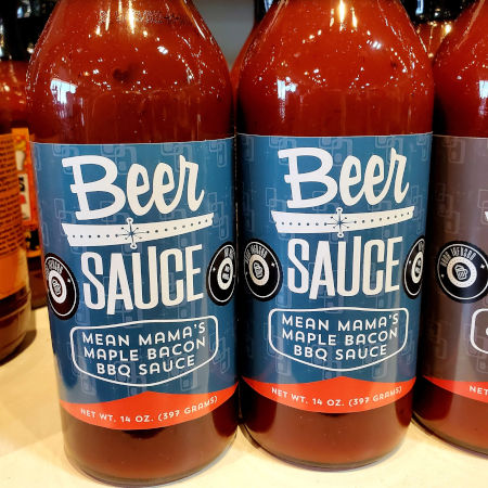 Mean Mama Maple Bacon BBQ BeerSauce